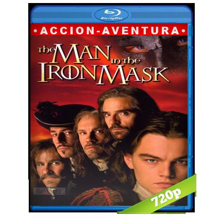 El Hombre De La Mascara De Hierro (1998) BRRip 720p Audio Trial Latino-Castellano-Ingles 5.1