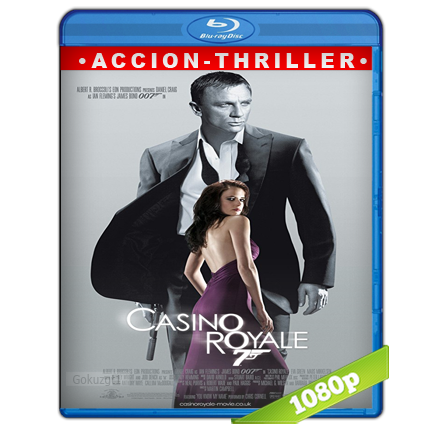 007 Casino Royale (2006) BRRip Full 1080p Audio Trial Latino-Castellano-Ingles 5.1