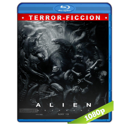 Alien Covenant (2017) BRRip Full 1080p Audio Trial Latino-Castellano-Ingles 5.1