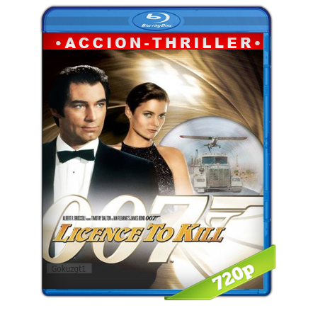 007 Con Licencia Para Matar (1989) BRRip 720p Audio Trial Latino-Castellano-Ingles 5.1