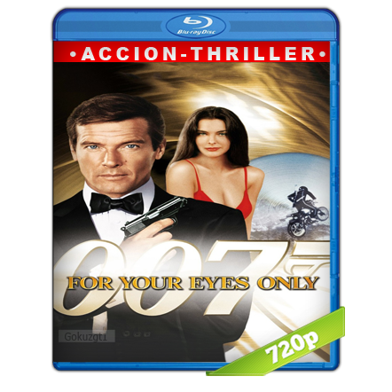 007 Solo Para Tus Ojos (1981) BRRip Full 1080p Audio Trial Latino-Castellano-Ingles 5.1