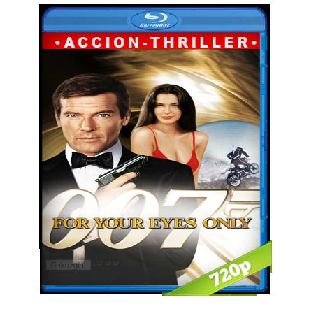007 Solo Para Tus Ojos (1981) BRRip Full 1080p Audio Trial Latino-Castellano-Ingles 5.1