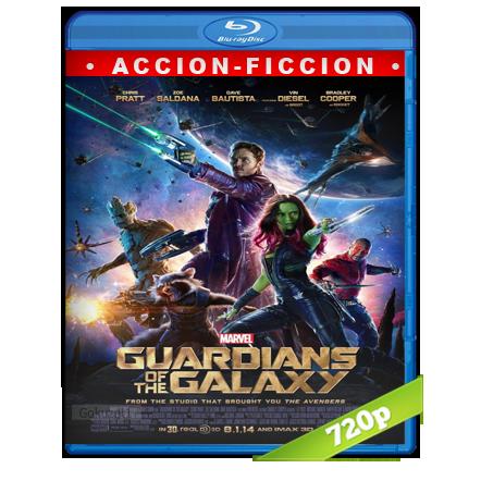 Guardianes De La Galaxia (2014) BRRip 720p Audio Trial Latino-Castellano-Ingles 5.1