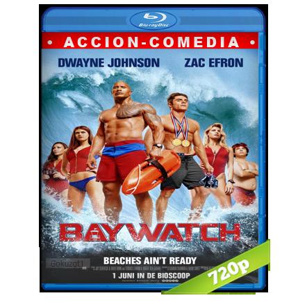 Baywatch Guardianes De La Bahia (2017) BRRip 720p Audio Trial Latino-Castellano-Ingles 5.1