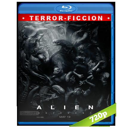 Alien Covenant (2017) BRRip 720p Audio Trial Latino-Castellano-Ingles 5.1