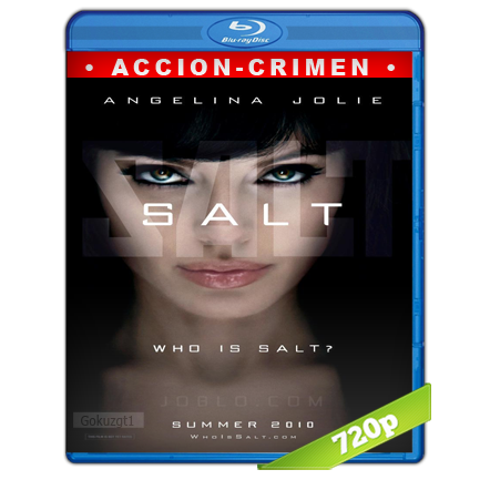 Agente Salt (2010) BRRip 720p Audio Trial Latino-Castellano-Ingles 5.1