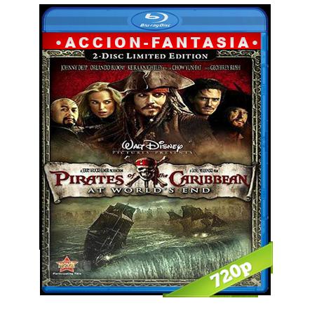 Piratas Del Caribe 3 En El Fin Del Mundo (2007) BRRip 720p Audio Trial Latino-Castellano-Ingles 5.1