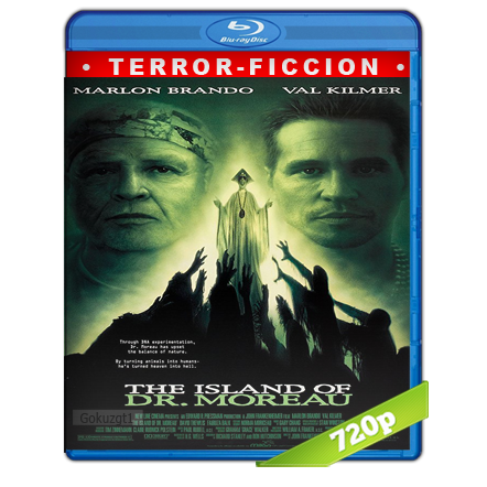 La Isla Del Dr. Moreau (1996) BRRip 720p Audio Dual Castellano-Ingles 5.1