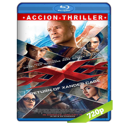 xXx 3 Reactivado (2017) BRRip 720p Audio Trial Latino-Castellano-Ingles 5.1