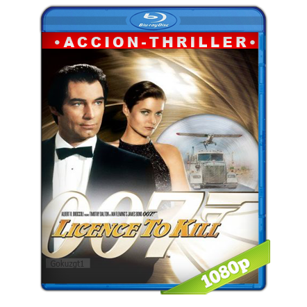 007 Con Licencia Para Matar (1989) BRRip Full 1080p Audio Trial Latino-Castellano-Ingles 5.1