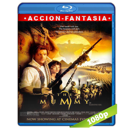 La Momia 1 (1999) BRRip Full 1080p Audio Trial Latino-Castellano-Ingles 5.1