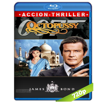 007 Octopussy Contra Las Chicas Mortales (1983) BRRip 720p Audio Trial Latino-Castellano-Ingles 5.1