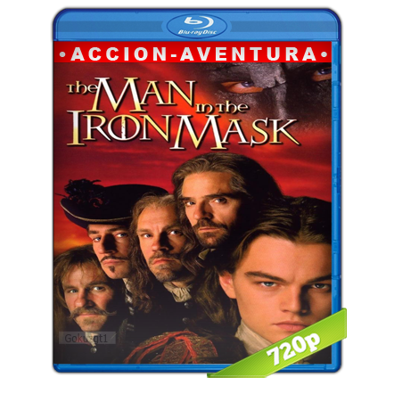 El Hombre De La Mascara De Hierro (1998) BRRip 720p Audio Trial Latino-Castellano-Ingles 5.1