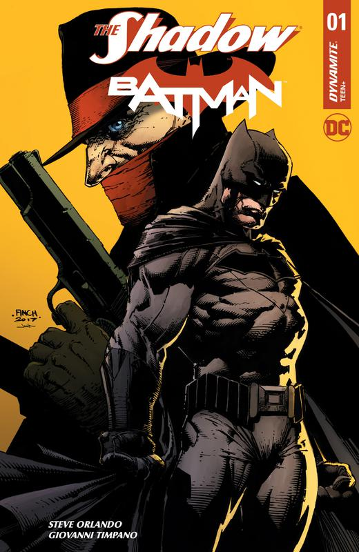 The Shadow - Batman #1-6 (2017-2018) Complete