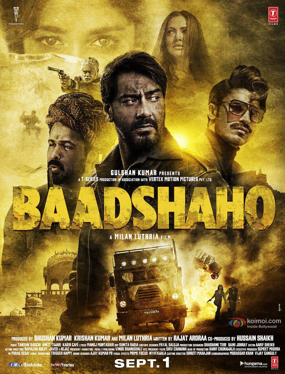Baadshaho (2017) - 720p - WEBRip - x264 - AC3 5.1 [Untouched] - ESubs - Madhu