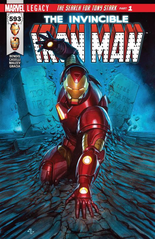 Invincible Iron Man Vol.3 #1-11, 593-598 (2017-2018)