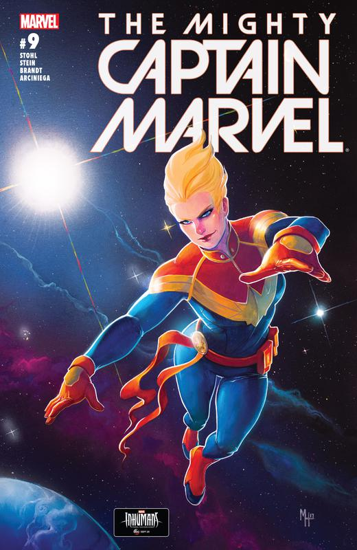 The Mighty Captain Marvel #0-9 (2017) Complete