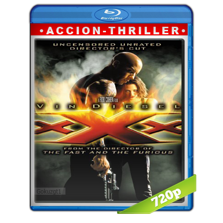 xXx (2002) BRRip 720p Audio Trial Latino-Castellano-Ingles 5.1