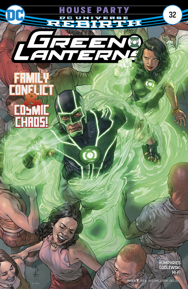 Green Lanterns #1-57 + Annual (2016-2018)