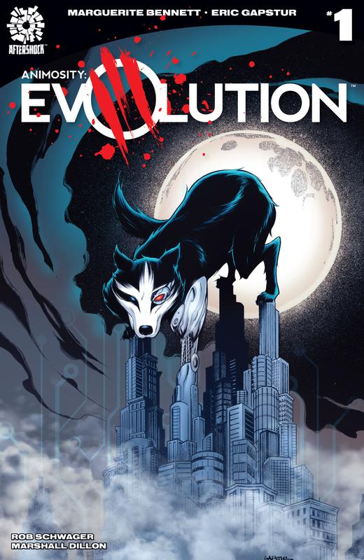 Animosity - Evolution #1-6 (2017-2018)