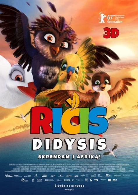 Ričis Didysis / A Stork's Journey (2017)