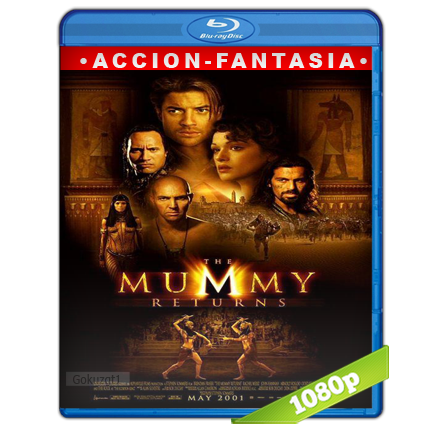 La Momia 2 Regresa 1080p Lat-Cast-Ing 5.1 (2001)