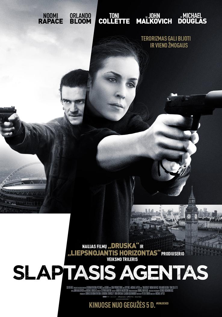 Slaptasis agentas / Unlocked (2017) žiūrėti online