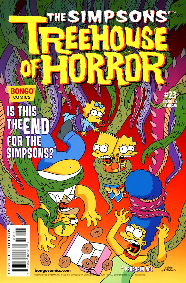 Bart Simpson's Treehouse of Horror -23 (1995-2017)