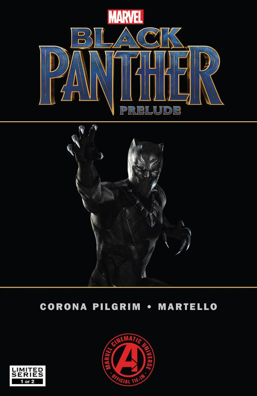 Marvel's Black Panther Prelude #1-2 (2017) Complete