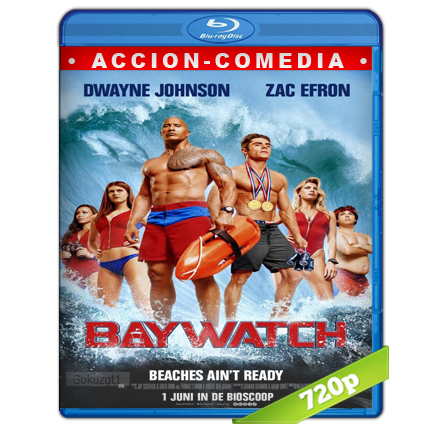 Baywatch Guardianes De La Bahia (2017) BRRip 720p Audio Trial Latino-Castellano-Ingles 5.1
