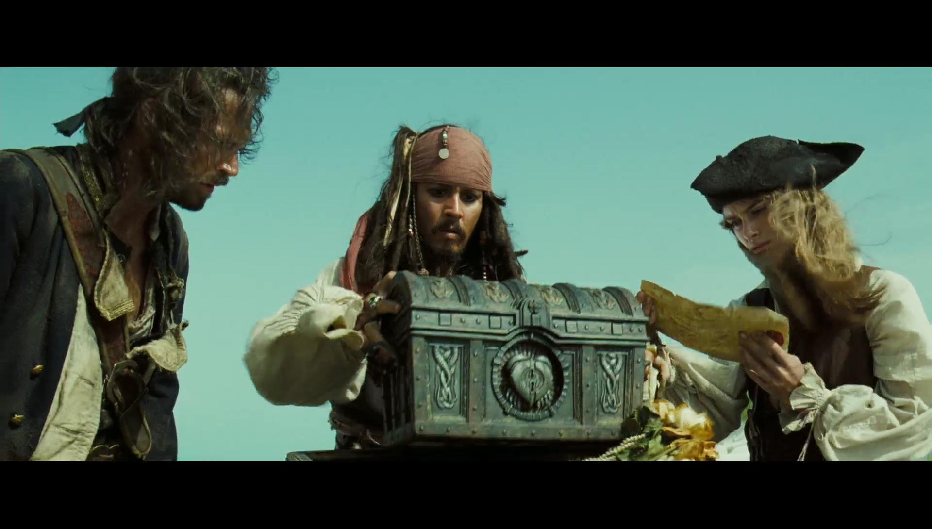 Piratas Del Caribe 2 El Cofre De La Muerte 1080p Lat-Cast-Ing 5.1 (2006)