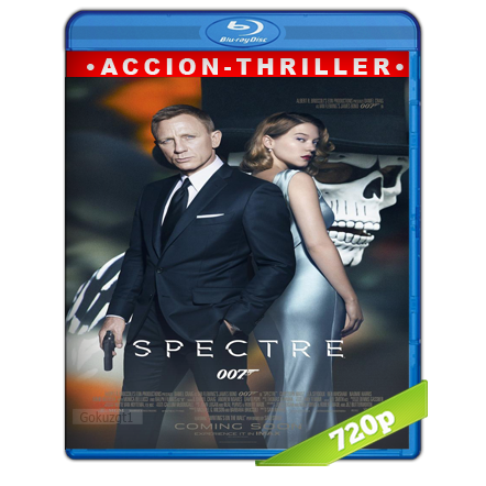 007 Spectre (2015) BRRip 720p Audio Trial Latino-Castellano-Ingles 5.1