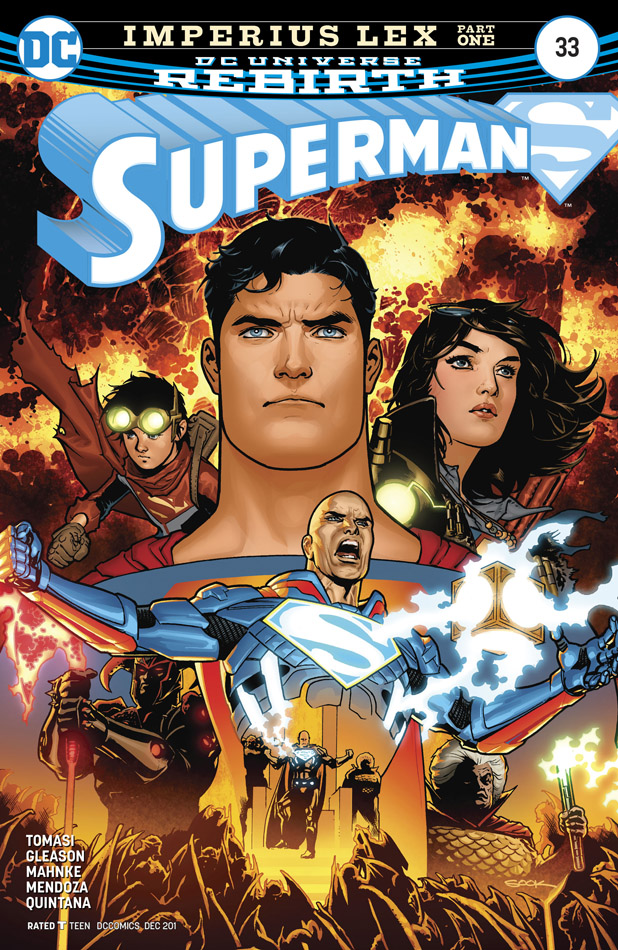 Superman #1-35 + Annual (2016-2018)