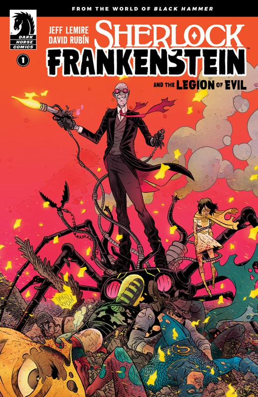 Sherlock Frankenstein and the Legion of Evil #1-4 (2017-2018) Complete