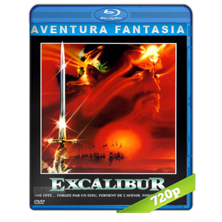 Excalibur (1981) BRRip 720p Audio Trial Latino-Castellano-Ingles 5.1