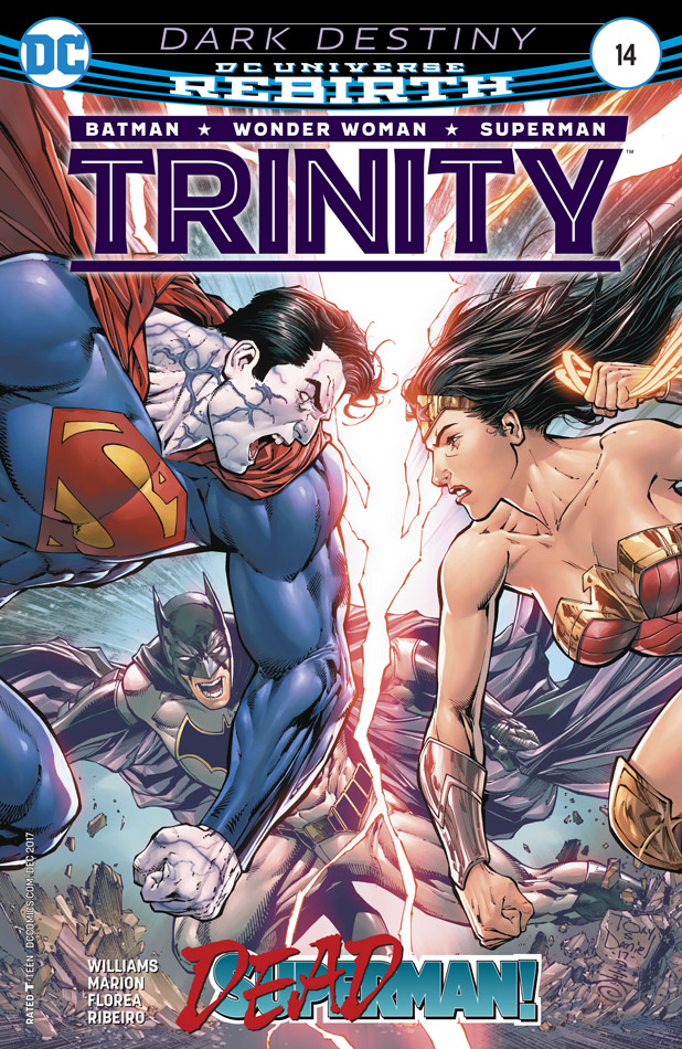Trinity #1-19 + Annual (2016-2018)