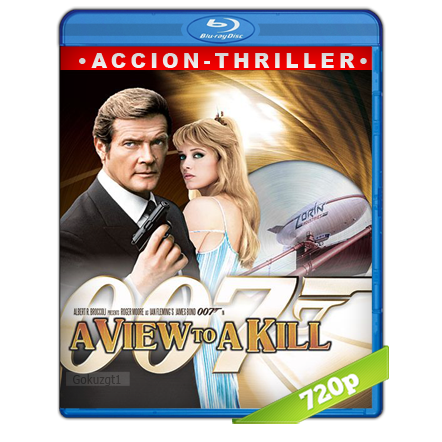 007 En La Mira De Los Asesinos (1985) BRRip 720p Audio Trial Latino-Castellano-Ingles 5.1