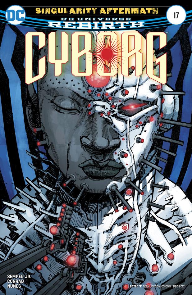 Cyborg #1-23 (2016-2018)