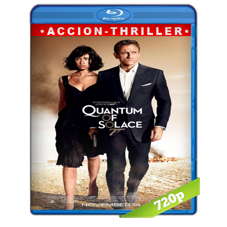 007 Quantum Of Solace (2008) BRRip 720p Audio Trial Latino-Castellano-Ingles 5.1