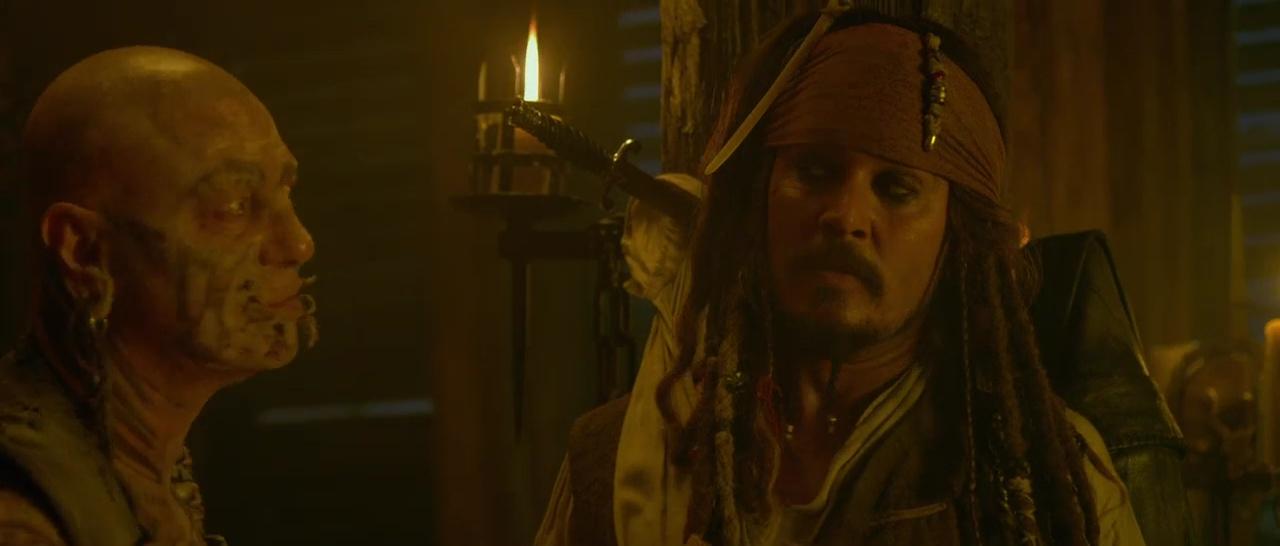 Piratas Del Caribe 4 720p Lat-Cast-Ing 5.1 (2011)