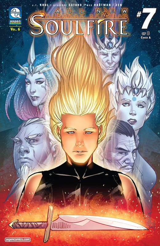 All-New Soulfire v6 #1-8 (2017) Complete
