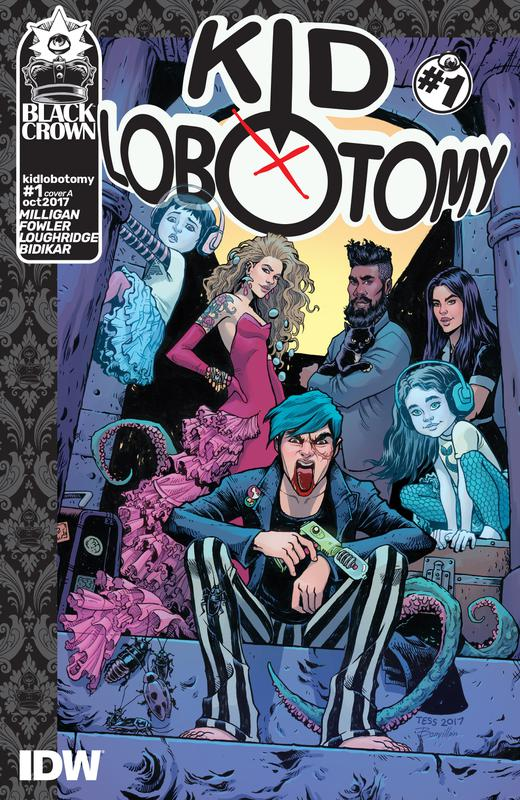 Kid Lobotomy #1-6 (2017-2018)