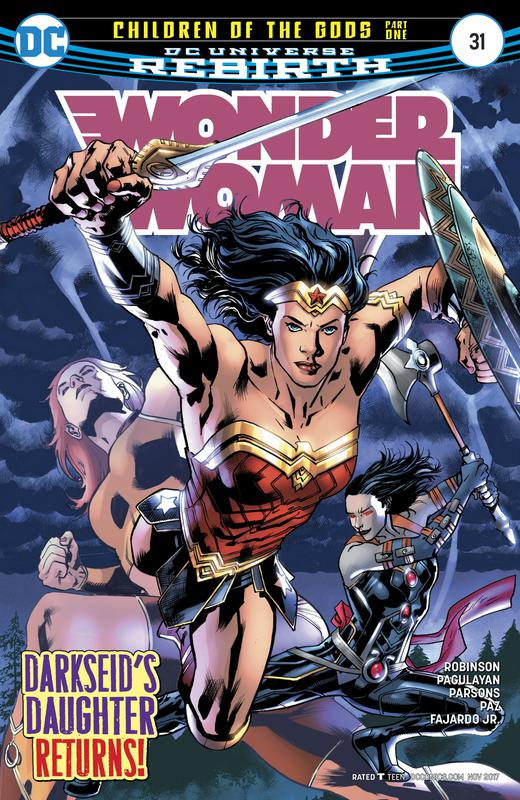 Wonder Woman #1-54 + Annuals + Specials (2016-2018)