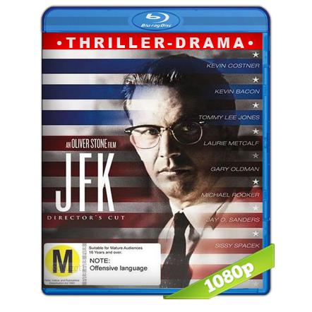 J.F.K. Caso Abierto (1991) BRRip Full 1080p Audio Trial Latino-Castellano-Ingles 5.1
