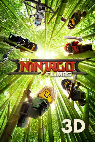 LEGO NINJAGO FILMAS / The LEGO Ninjago Movie (2017) žiūrėti online