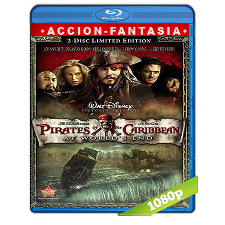Piratas Del Caribe 3 En El Fin Del Mundo (2007) BRRip Full 1080p Audio Trial Latino-Castellano-Ingles 5.1