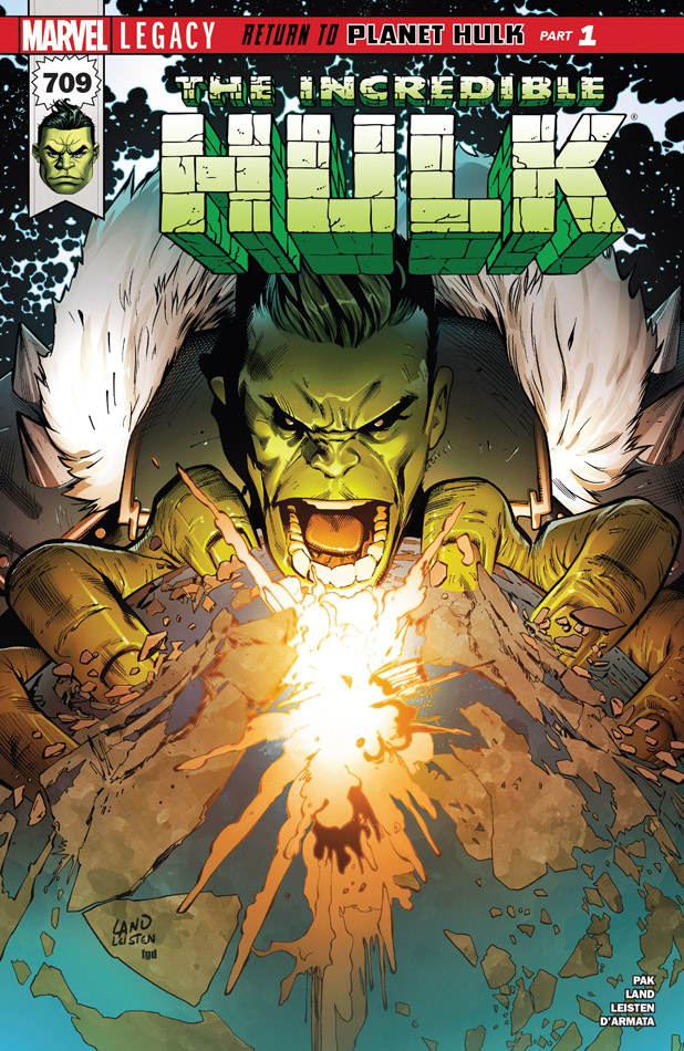 Incredible Hulk 709 (2017)