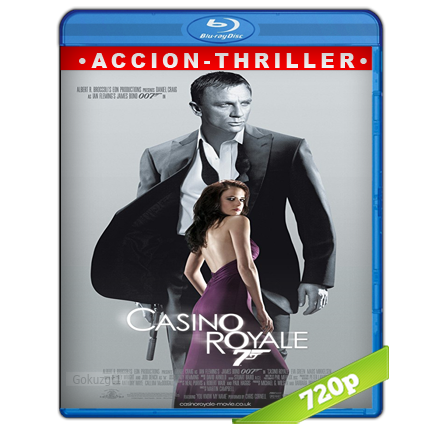 007 Casino Royale (2006) BRRip 720p Audio Trial Latino-Castellano-Ingles 5.1