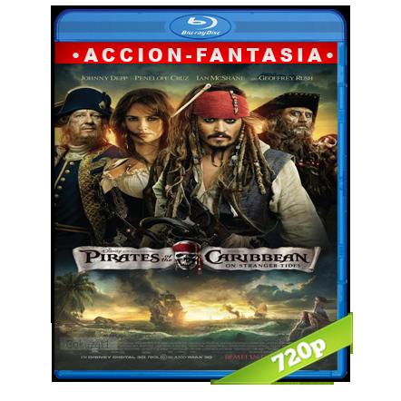 descargar Piratas Del Caribe 4 720p Lat-Cast-Ing 5.1 (2011) gartis
