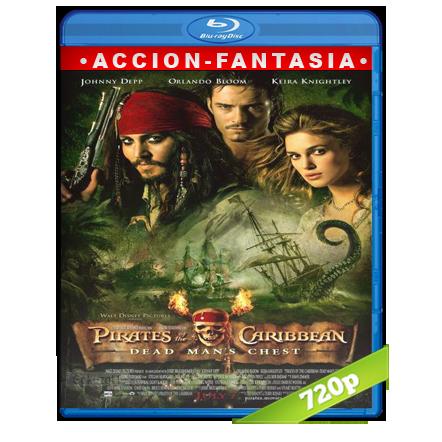 Piratas Del Caribe 2 El Cofre De La Muerte 720p Lat-Cast-Ing 5.1 (2006)